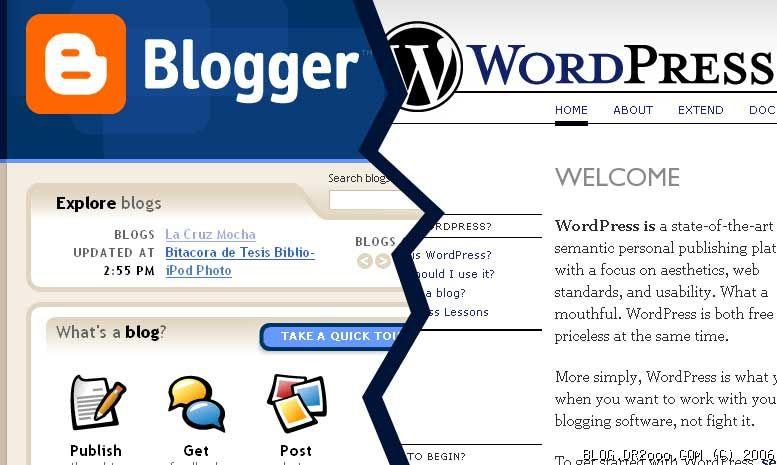 Jasa Pindah Migrasi dari blogspot.com ke wordpress.org